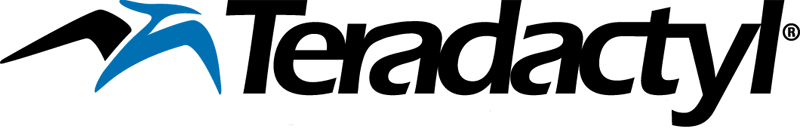 Teradactyl Logo and link to Home