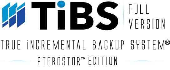 TiBS PteroStor Edition Full Version Backup Software
